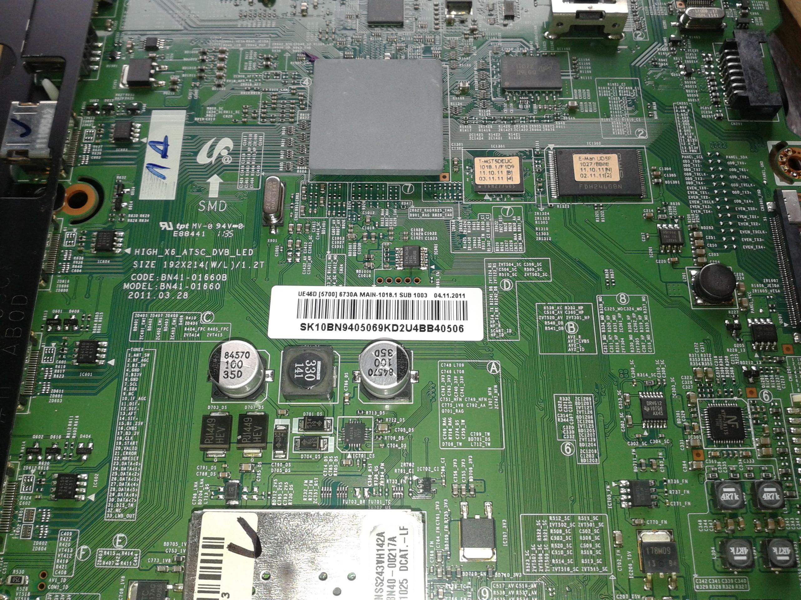 Nippur Elektronika - TV alkatrészek